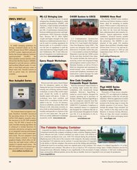 Maritime Reporter Magazine, page 54,  May 2, 2010