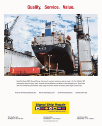 Maritime Reporter Magazine, page 3rd Cover,  May 2, 2010