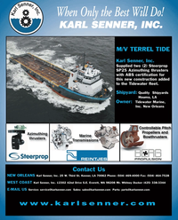 Maritime Reporter Magazine, page 4th Cover,  May 2, 2010