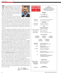 Maritime Reporter Magazine, page 6,  May 2, 2010
