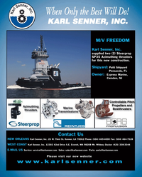 Maritime Reporter Magazine, page 4th Cover,  Jun 2, 2010 New Jersey