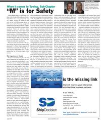 Maritime Reporter Magazine, page 19,  Jul 2010
