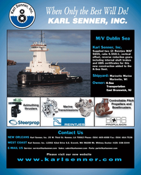 Maritime Reporter Magazine, page 4th Cover,  Jul 2010