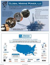 Maritime Reporter Magazine, page 11,  Aug 2010
