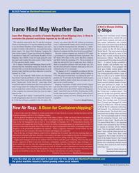 Maritime Reporter Magazine, page 14,  Aug 2010 Dennis Bryant