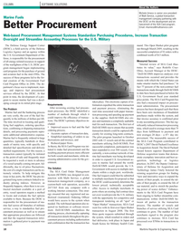 Maritime Reporter Magazine, page 18,  Aug 2010 U.S. Government Department of De