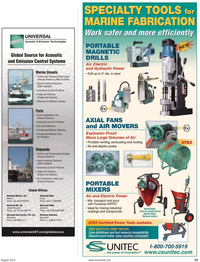 Maritime Reporter Magazine, page 25,  Aug 2010