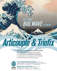 Maritime Reporter Magazine, page 1,  Aug 2010
