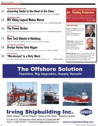 Maritime Reporter Magazine, page 2,  Aug 2010 Klaus Stahlmann
