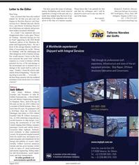 Maritime Reporter Magazine, page 7,  Aug 2010 Jack Gilbert