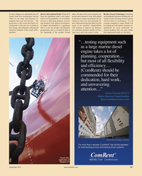 Maritime Reporter Magazine, page 23,  Sep 2010