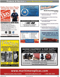 Maritime Reporter Magazine, page 53,  Sep 2010