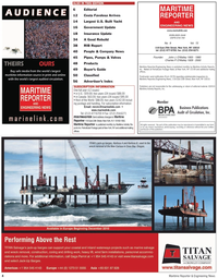 Maritime Reporter Magazine, page 4,  Sep 2010