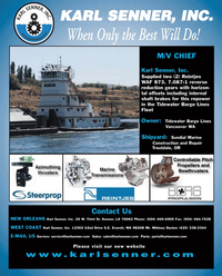Maritime Reporter Magazine, page 4th Cover,  Sep 2010