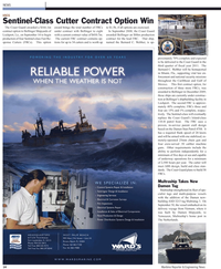 Maritime Reporter Magazine, page 14,  Oct 2010