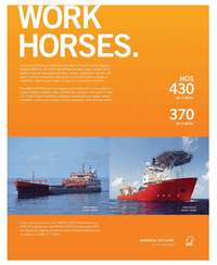 Maritime Reporter Magazine, page 2nd Cover,  Oct 2010