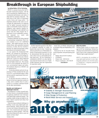 Maritime Reporter Magazine, page 29,  Oct 2010