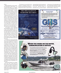 Maritime Reporter Magazine, page 33,  Oct 2010