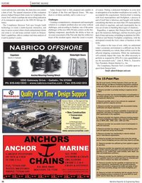 Maritime Reporter Magazine, page 36,  Oct 2010