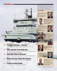 Maritime Reporter Magazine, page 2,  Oct 2010