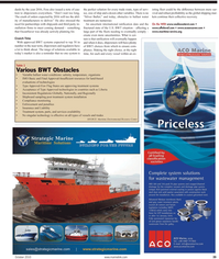 Maritime Reporter Magazine, page 39,  Oct 2010