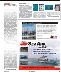 Maritime Reporter Magazine, page 41,  Oct 2010