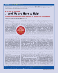 Maritime Reporter Magazine, page 8,  Nov 2010