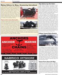 Maritime Reporter Magazine, page 102,  Nov 2010