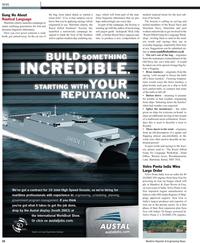 Maritime Reporter Magazine, page 22,  Nov 2010
