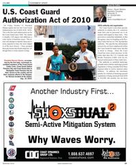 Maritime Reporter Magazine, page 24,  Nov 2010