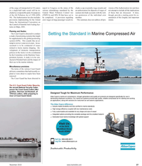 Maritime Reporter Magazine, page 27,  Nov 2010 Committee on the Maritime Trans