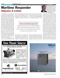 Maritime Reporter Magazine, page 28,  Nov 2010