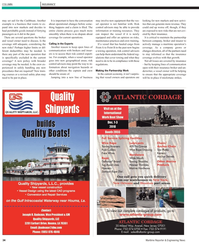 Maritime Reporter Magazine, page 34,  Nov 2010