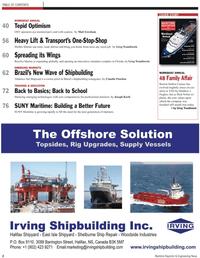 Maritime Reporter Magazine, page 2,  Nov 2010