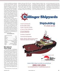 Maritime Reporter Magazine, page 47,  Nov 2010