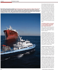 Maritime Reporter Magazine, page 50,  Nov 2010 ports underwater infrastructure