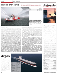 Maritime Reporter Magazine, page 14,  Dec 2010 British Columbia