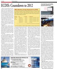 Maritime Reporter Magazine, page 28,  Dec 2010 Michael Cauter