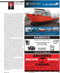 Maritime Reporter Magazine, page 35,  Dec 2010 dor equipment
