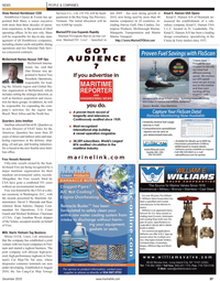 Maritime Reporter Magazine, page 37,  Dec 2010 Florida