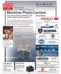 Maritime Reporter Magazine, page 38,  Dec 2010 maritime magazine