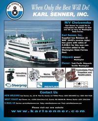 Maritime Reporter Magazine, page 4th Cover,  Dec 2010