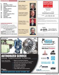 Maritime Reporter Magazine, page 4,  Dec 2010 Circular