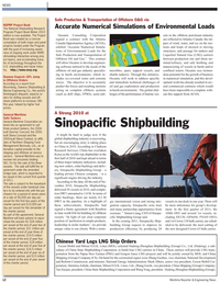 Maritime Reporter Magazine, page 12,  Feb 2011