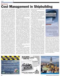 Maritime Reporter Magazine, page 14,  Feb 2011