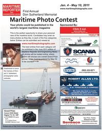 Maritime Reporter Magazine, page 19,  Feb 2011