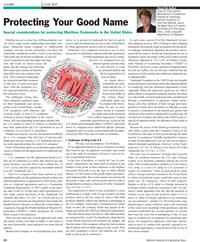 Maritime Reporter Magazine, page 24,  Feb 2011