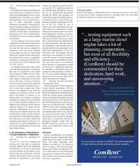 Maritime Reporter Magazine, page 25,  Feb 2011