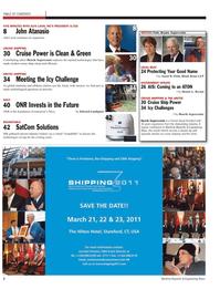 Maritime Reporter Magazine, page 2,  Feb 2011