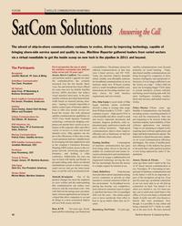 Maritime Reporter Magazine, page 42,  Feb 2011